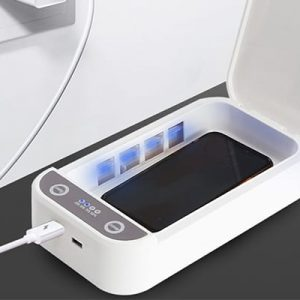 UV-C LED Sterilization Box with USB Charger