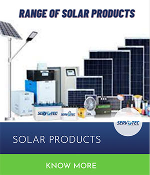 Servotech Solar Products
