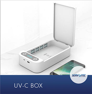 UV Sterilization Box with Charger